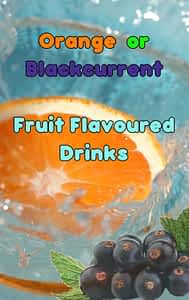 Blackcurrant Fruit Flavoured In-Cup Drinks Refills / Ingredients 7oz