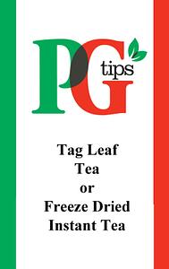 Bulk PG tips Tea