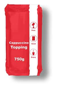 Cappuccino Topping - Vending Machine In-cup Drinks Ingredients Refills