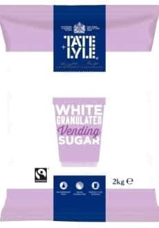 Tate & Lyle: Vending Machine Sugar Fairtrade – 6 x 2kg Case