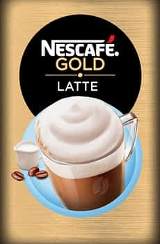 Nescafe Gold Latte - Vending Machine In-cup Drinks Ingredients Refills