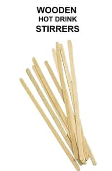 Wooden Disposable Stirrers For Vending Machine Drinks