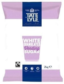 Tate & Lyle: Vending Machine Sugar Fairtrade – 6 x 2kg Case