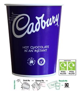 Cadburys Hot Chocolate - Takeaway In-cup Drinks Refills