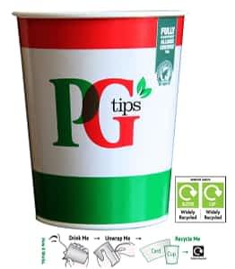 PG Tips Tea - Takeaway In-cup Drinks Refills