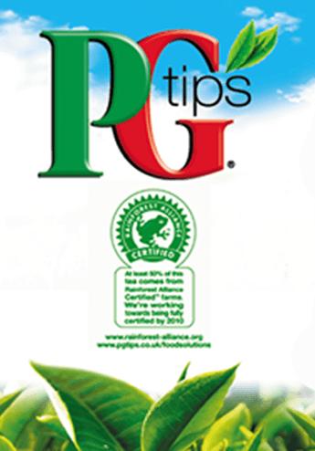 PG Tips Tea - Vending Machine In-cup Drinks Ingredients Refills