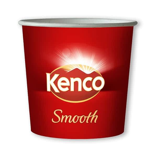 Kenco Smooth Coffee -76mm 7oz Paper In-cup Drinks Kenco and MaxPax Machine Refills