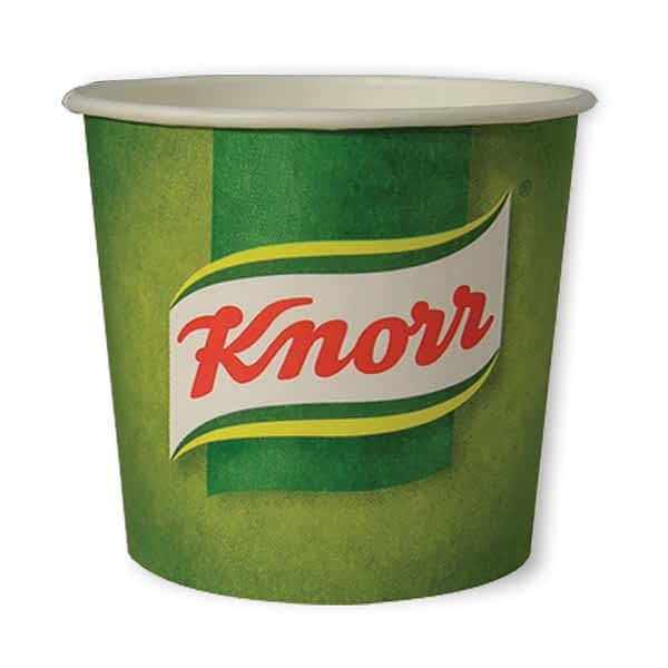 Knorr Soup -76mm 7oz Paper In-cup Drinks Kenco and MaxPax Machine Refills