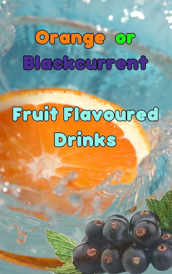 Blackcurrant Fruit Flavoured In-Cup Drinks Refills / Ingredients 7oz