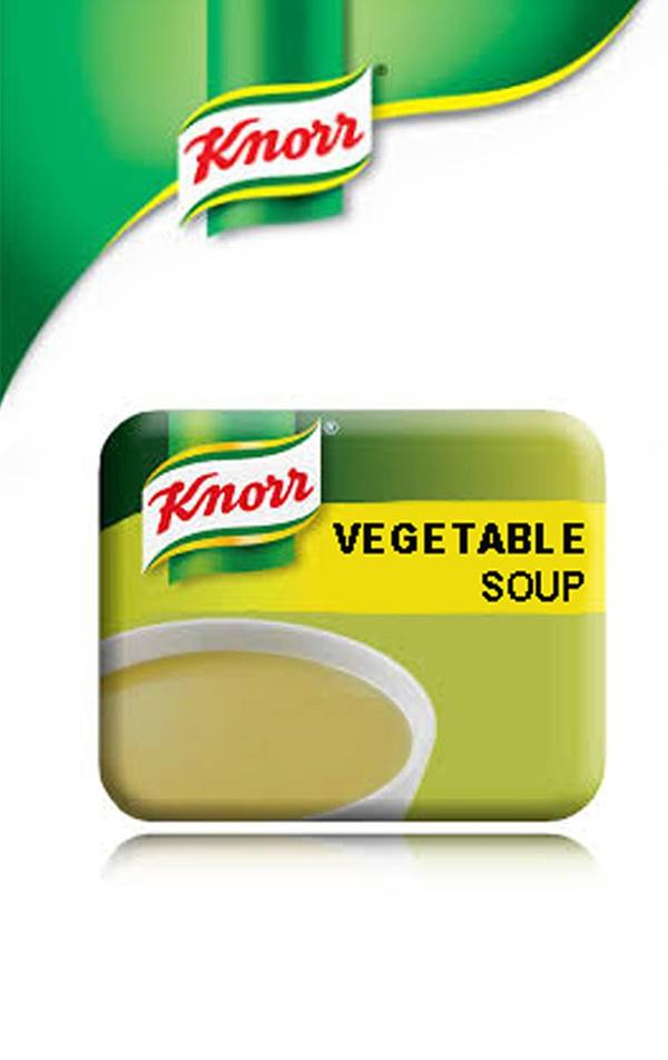 Knorr Vegetable Soup - Vending Machine In-cup Drinks Ingredients Refills