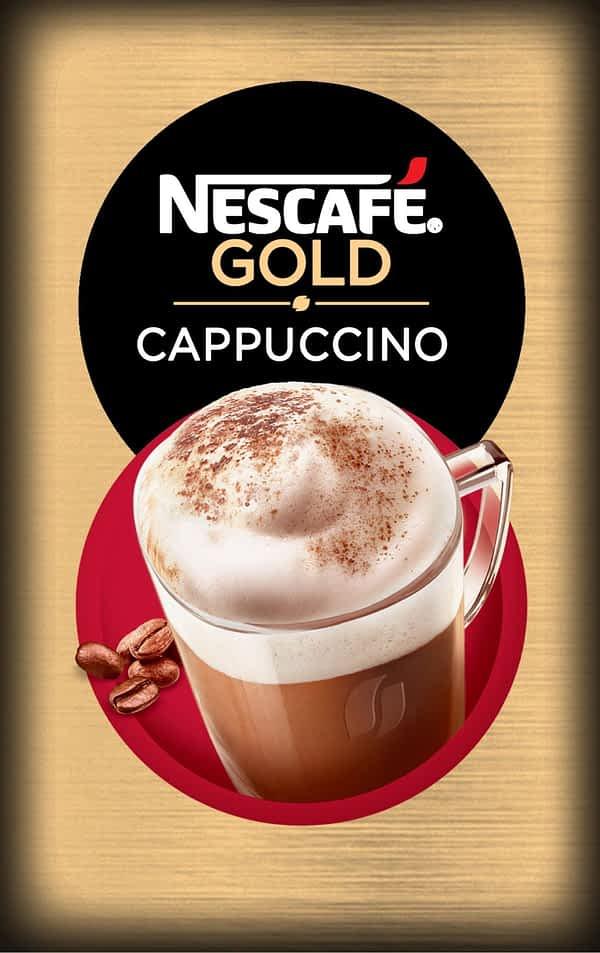 Nescafe Cappuccino - Vending Machine In-cup Drinks Ingredients Refills