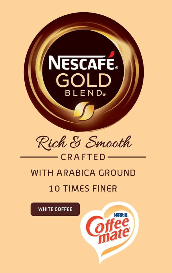 Nescafe Gold Blend - Vending Machine In-cup Drinks Ingredients Refills